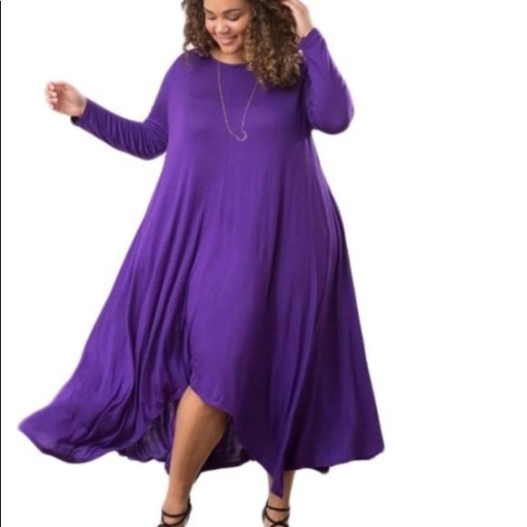 Brand New Plus Size Purple Dress 2XL $25 ‼️Sale Boutique